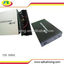 hard drive enclosure for hdd 3.5 sata hdd hard drive external case 480mbps 2TB