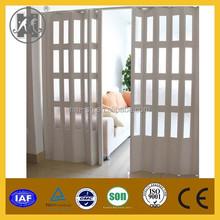 Plastique PVC porte pliante pour la décoration intérieure