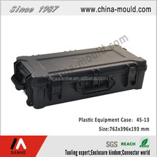 abs plastic military long gun case