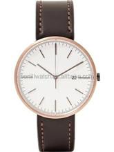 Men Luxury Crocodile Skin Leather Watch , Minimalist men's watch ,Business mens watch