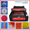 china factory 80w 100w 120w fabric wood acrylic MDF plastic co2 3d laser engraving machine price with CE/ISO