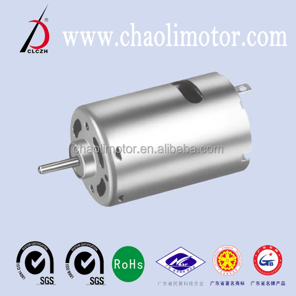 Rs540 air compressor motors with high torque speed for for High torque air motor