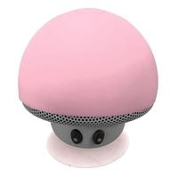 2015 Hot Selling Silicone Sucker Mushroom Mini Wireless mini Bluetooth waterproof speaker For mobile free shipping