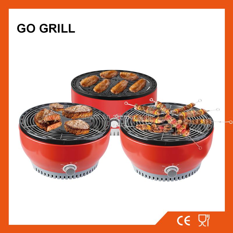 go grill enamel smokeless tabletop korean charcoal bbq. Black Bedroom Furniture Sets. Home Design Ideas