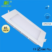 Easy installation with mounting holes or adhesive led flat module panel light 5050