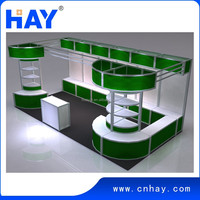Reusable modular exhibition booth design and building services