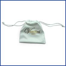 Custom wholesale microfiber sunglasses bag/microfiber pouch with drawstring