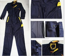 Black color long sleeve work uniform/overall/work wear
