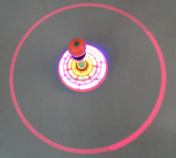 children toy Light up spinning top for halloween