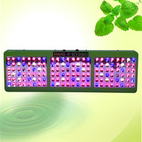 2015 Reflector Design Veg/Bloom Switches 720W LED Grow Light Full Spectrum 144PCS X 5W Chip High Lumen Increase Yields Grow