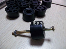 furniture screw rubber feet for metal,chair,table,sofa