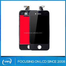 High quality tempered glass for iphone 4 4s touch LCD screen