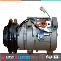 10S15C Car Ac Compressor for Mixer Truck 1B 24V R134a ST150404 LB-E5038