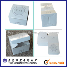 wholesale Custom Printing Foldable Paper Cosmetic Box