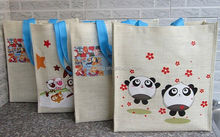 2015 cheap 2013 2013 jute bag for gift for gift/ 2013 jute bag for gift sellers from india/ shopping bag with cord handle