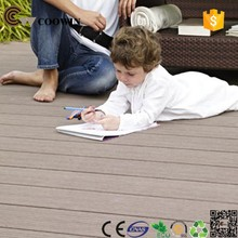 Waterproof outdoor use wood plastic deck board
