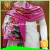 Fashionable Colourful Personalized Raw Silk Scarf For Evening Dress