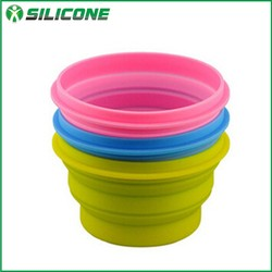 2015 new products for pet silicone cat bowl pet bowl collapsible dog water bowl