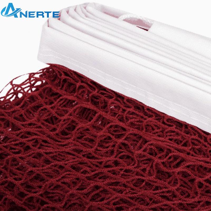 Exquis nouveau pe extérieure intérieure durable professionnel badminton net ensemble avec pôles
