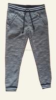 Cotton polyester hemp custom design plain women harem sweat pants