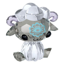 cute unique color crystal sheep for special gifts