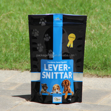 dog treats packaging pouch/foil pouch packaging/resealable stand up pouch