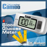 OKmeter Cameo Mini Home Testing Blood Glucose Tester / Blood Test for Glucose