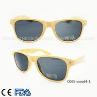 Supply wood sun glasses Custom promotion sunglasses gift glasses with logo design