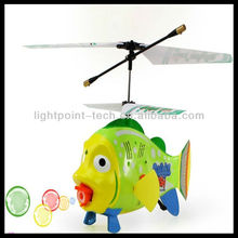 21cm 3.5ch rc flying bubble fish helicopter + GYRO