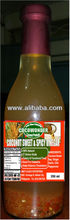 COCONUT SWEET & SPICY VINEGAR - 100% Natural, Complete of amino acids