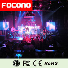 FOCONO P6 indoor full color led display xxx video xx panel x screen, led video curtain,
