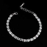 Scalar energy bracelet of AAA zircon bracelet with smart bracelet anchor for image sex women