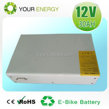 12V 20AH 30AH 35AH LiFePO4 26650 battery pack for medical carts by 3.2V 3200mah