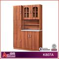 K807a pré-fabricada mdf armário de cozinha desenhos simples