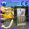 Inchado milho máquina lanches/máquina de fazer lanche/tubo oco pop corn máquina de soprar 008613676938131