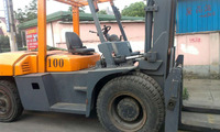 Origianal Germany durable used TCM FD100 forklift 10t in shanghai for sale