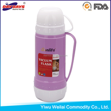 Plastic Vacuum Flask Thermos Inner Glass For Kids