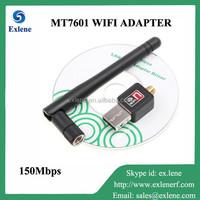 150Mbps MT7601 IEEE 802.11n/g/b wireless network usb adapter