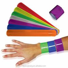 Cheap Reflective Promotional Custom Slap Bracelet
