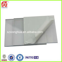 transparent colored pc plastic sheet for gazebo and ceiling cladding