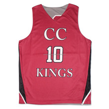Digital printing wholesale custom youth reversible basketball practice jerseys