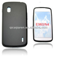 mobilephone silicon case for LG NEXUS 4/E940
