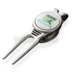 High-end Golf Club Pitchfork with Personalized Cap Clip and Ball Marker