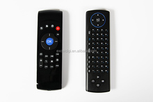 air mouse keyboard Wireless 2.4GHz Air Mouse + Touchpad Handheld Keyboard Combo -Black