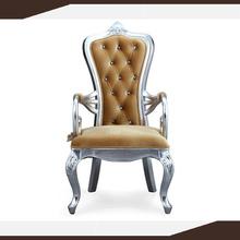 Danxueya- Vitoria Classic Button Tufted Arm Chair/ Foshan lesiure fabric furniture sofa set