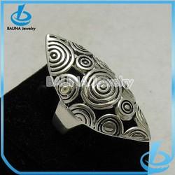 2015 women fashion jewelry metal finger ring