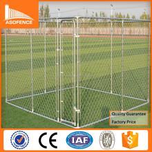 Heavy duty 10x10x6 galvanized roll chain link dog cage