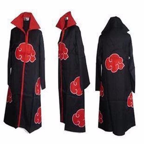 Naruto Akatsuki Itachi Cosplay Costume Cloak Size S M L XL XXL.jpg