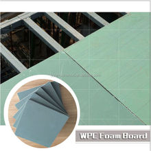 High quality WPC waterproof building templates, formwork panel