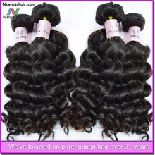 Wholesale italian wave 7a virgin remy colored brazilian hair